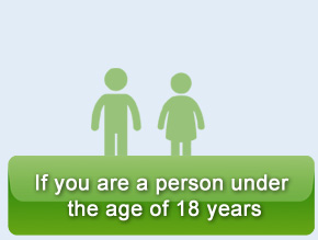 Please fill this form if you are a person under the age of 18 years
