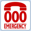 Dial 000 in an emergency