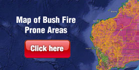 Map of Bushfire Prone Areas